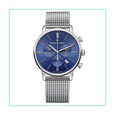 Maurice Lacroix メンズ Eliros スイスクォーツ 腕時計 ステンレススチールストラップ付き シルバー モデル:E