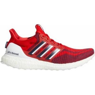 アディダス メンズ スニーカー シューズ adidas Men's Ultraboost 2.0 DNA Running Shoes Scarlet/Navy/White