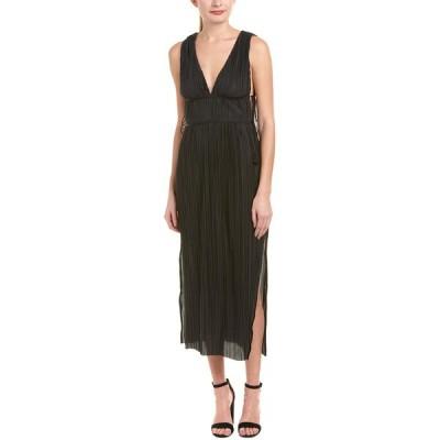 ジェットセットダイアリーズ ワンピース トップス レディース The Jetset Diaries Kiara Midi Dress black