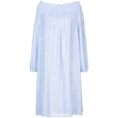 ツインセット シモーナ バルビエリ TWINSET ミニワンピース&ドレス パステルブルー XL ポリエステル 100% ミニワンピース&ドレス