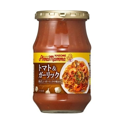 カゴメ アンナマンマ トマト&ガーリック ( 330g )/ アンナマンマ ( パスタソース )