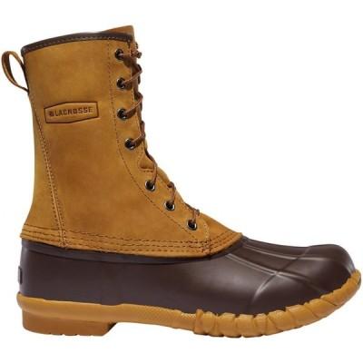 ラクロッセ LaCrosse メンズ ブーツ ワークブーツ シューズ・靴 Uplander II 10'' Waterproof Work Boots Brown