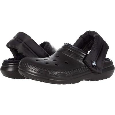 クロックス Classic Lined Neo Puff Clog メンズ Clogs Black/Black