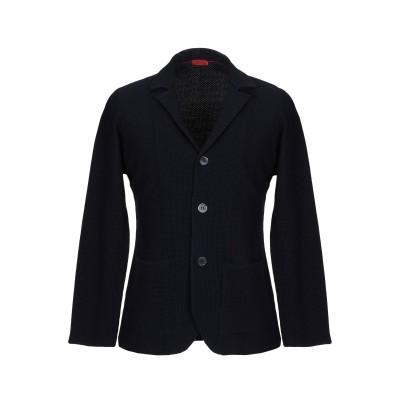イザイア ISAIA テーラードジャケット ダークブルー XL ウール 100% テーラードジャケット