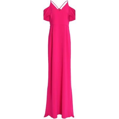 ホルストン・ヘリテージ HALSTON ロングワンピース&ドレス フューシャ 10 ポリエステル 95% / ポリウレタン 5% ロングワンピース&
