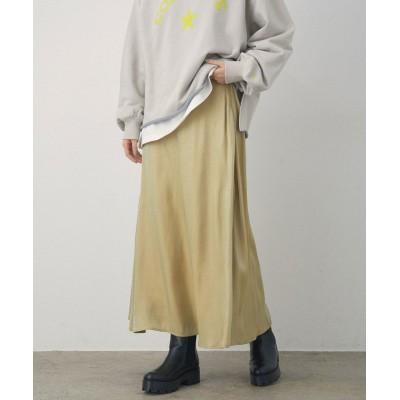 【ビス】 フレアシャイニースカート レディース イエロー S ViS