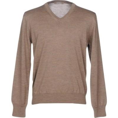 アンドレア フェンツィ ANDREA FENZI メンズ ニット・セーター トップス sweater Khaki