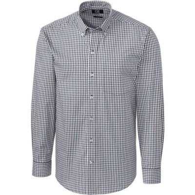 カッター&バック Cutter & Buck メンズ シャツ トップス Long Sleeve Stretch Gingham Shirt Charcoal