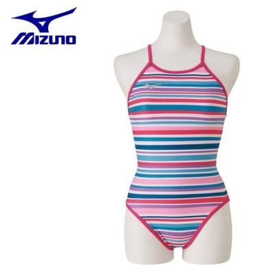 ミズノ トレーニング水着 レディース 競泳練習用 Rikako Ikee Collection ミディアムカット N2MA9760-65 MIZUNO