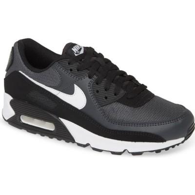 ナイキ NIKE メンズ スニーカー シューズ・靴 Air Max 90 Sneaker Grey/White/Smoke Grey/Black