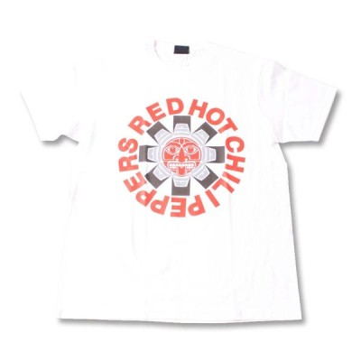 Tシャツ バンドTシャツ ロックTシャツ 半袖 (W) レッドホットチリペッパーズ/ レッチリ RED HOT CHILI PEPPERS 2 WHT S/S 白