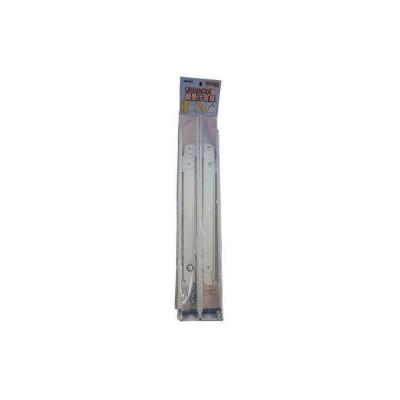 田辺金属工業所 0854-00501 折りたたみ式棚受金具 400mm 白 (085400501)