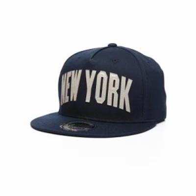 バイヤーズピック キャップ new york snapback hat Navy