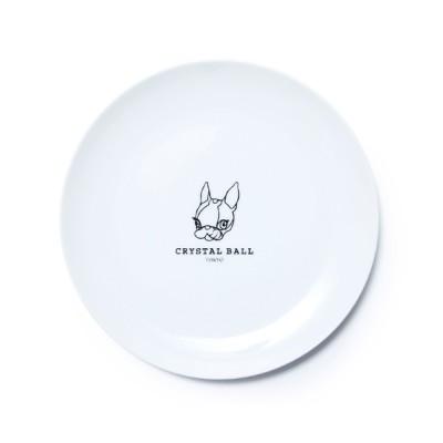 食器 CRYSTAL BALL CAFE PLATE/プレート