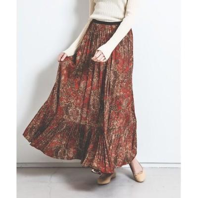 Rouge vif la cle / ルージュ・ヴィフ ラクレ オリエンタルプリントスカート