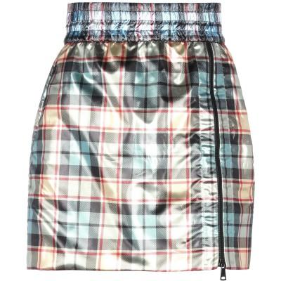 ヌメロ ヴェントゥーノ N°21 ミニスカート ゴールド 38 ポリエステル 100% ミニスカート