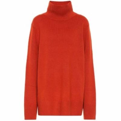 ザ ロウ The Row レディース ニット・セーター トップス Milana wool and cashmere sweater Rust