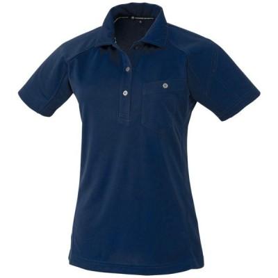 コーコス 半袖ポロシャツ ネイビー 9 ※取寄品 A-4377