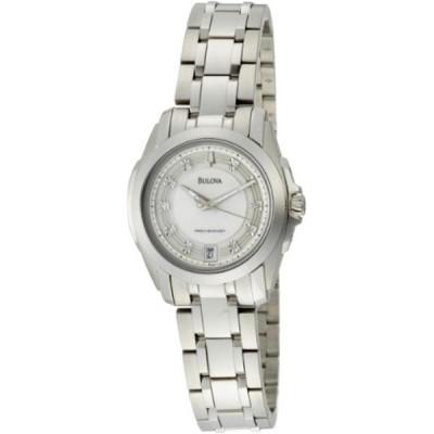 ブローバ Bulova 腕時計 時計 Bulova Women's 96P115 Precisionist Longwood Steel Bracelet Watch