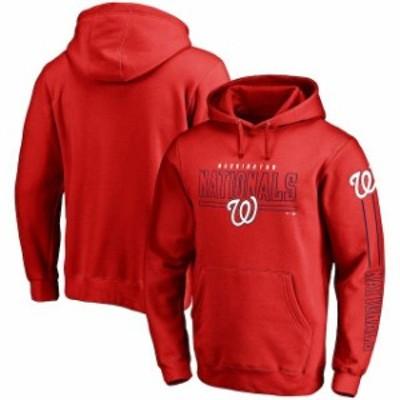 Fanatics Branded ファナティクス ブランド スポーツ用品  Fanatics Branded Washington Nationals Red Front Line Pul