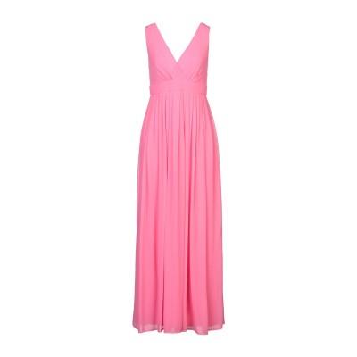 TRAFFIC PEOPLE ロングワンピース&ドレス ピンク M ポリエステル 100% ロングワンピース&ドレス