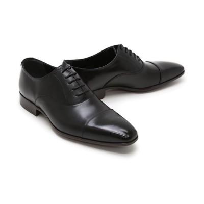 ビジネスシューズ 本革 ストレートチップ キャップトゥ ドレス メンズ ブラック クインクラシコ QueenClassico ドレスシューズ 26001bk ブラック キャップトゥ
