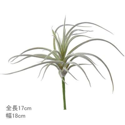造花 フェイクグリーン 人工観葉植物 エアプランツ)スパイダーチランジア ホワイトグリーン(DMFG222)