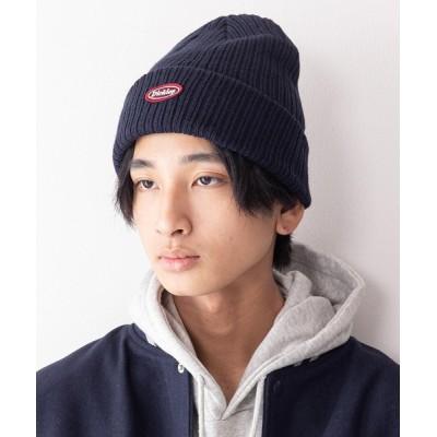 UNIIT / 【DICKIES/ディッキーズ】ワッペンニットキャップ ビーニー ワンポイントブランドロゴ MEN 帽子 > ニットキャップ/ビーニー