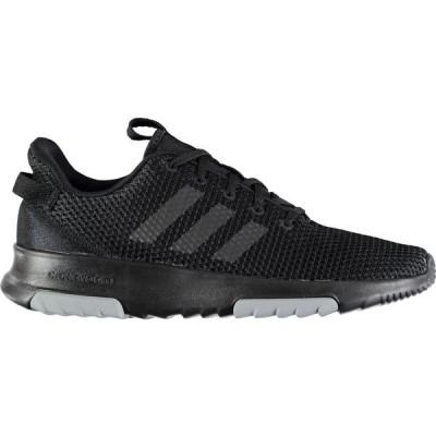 アディダス adidas メンズ スニーカー シューズ・靴 Cloudfoam Racer Trainers Triple Black