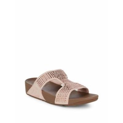 フィットフロップ レディース シューズ サンダル Glitzie Slide Sandals
