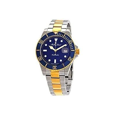 Mathey-Tissot Mathey Vintage Automatic Blue Dial 42 mm Men's Watch H9010ATB 並行輸入品