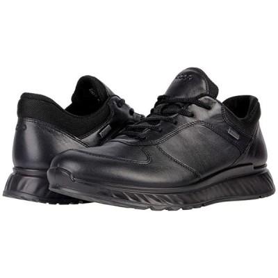 エコー Exostride Low GORE-TEX メンズ スニーカー 靴 シューズ Black
