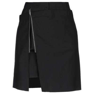 アリクス 1017 ALYX 9SM ミニスカート ブラック 36 バージンウール 100% ミニスカート