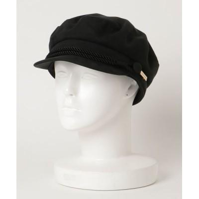 L&HARMONY / [MAISON Birth / メゾンバース] SUEDE MARINE CAP WOMEN 帽子 > キャップ