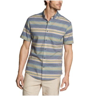 メンズ 半袖バハボタンダウンシャツ