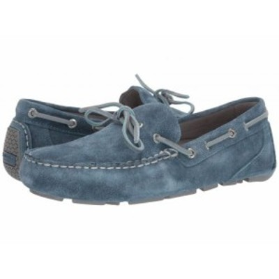 Sperry スペリー メンズ 男性用 シューズ 靴 ボートシューズ Gold Cup Harpswell 1-Eye Suede w/ ASV Blue Mirage【送料無料】