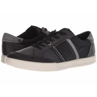 エコー メンズ スニーカー シューズ Collin 2.0 Casual Sneaker Black/Black