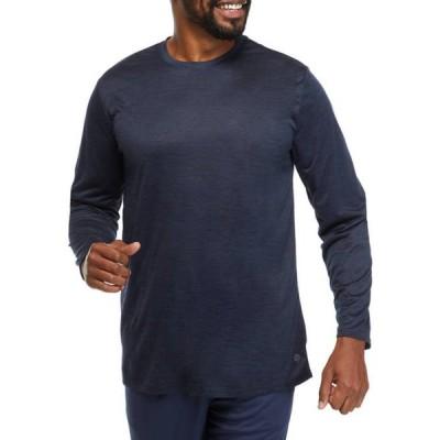ゼロス メンズ Tシャツ トップス Big & Tall Long Sleeve Crew Neck T-Shirt