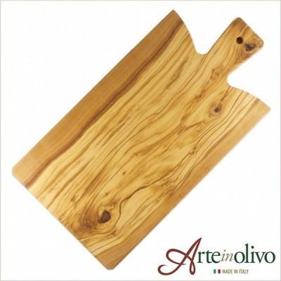 [Arteinolivo] オリーブウッド カッティングボード-(トスカーナSサイズ)