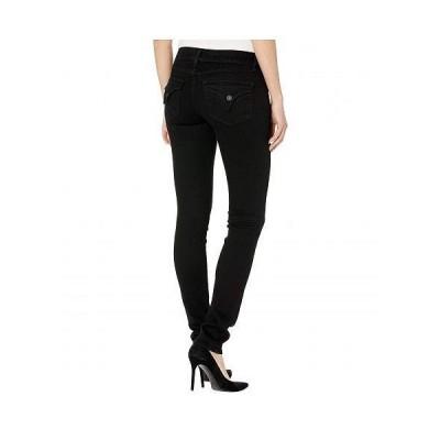 Hudson Jeans ハドソン ジーンズ レディース 女性用 ファッション ジーンズ デニム Collin Mid-Rise Skinny in Black - Black