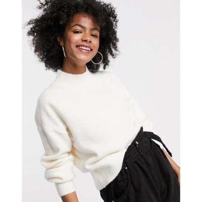 アンドアザーストーリーズ レディース ニット・セーター アウター & Other Stories mock neck sweater in off white