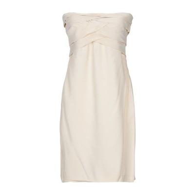 SUOLI ミニワンピース&ドレス アイボリー 44 レーヨン 94% / ポリウレタン 6% ミニワンピース&ドレス