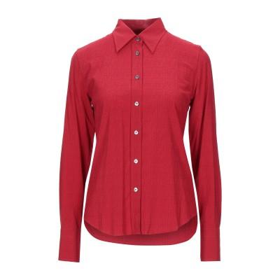 カリバン CALIBAN シャツ レッド 40 レーヨン 81% / シルク 15% / ポリウレタン 4% シャツ