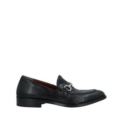 ROBERTO BOTTICELLI メンズ モカシン シューズ 靴 ブラック
