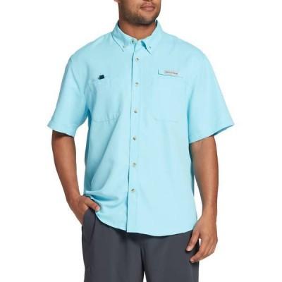 フィールドアンドストリーム メンズ シャツ トップス Field & Stream Men's Latitude II Woven Fishing Button Down T-Shirt