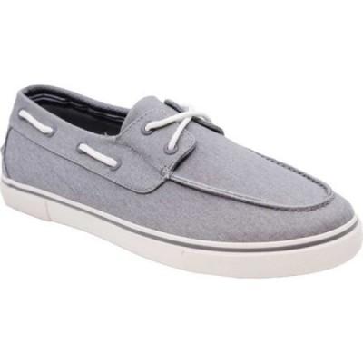 ノーティカ Nautica メンズ スリッポン・フラット シューズ・靴 Galley Radial Grey Twill/Canvas