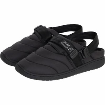 シャカ(SHAKA) メンズ レディース クロッグシューズ SNUG CLOG ブラック 433169 【サンダル カジュアルシューズ 保温 おしゃれ 靴】