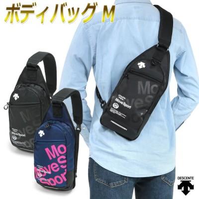 ムーブスポーツ デサント ボディ バッグ ワンショルダー 斜め掛け メンズ レディース 男女兼用/ボディバッグ M DMANJA06