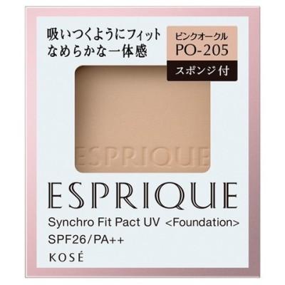 エスプリーク シンクロフィット パクト UV PO−205 ピンクオークル (9.3g)