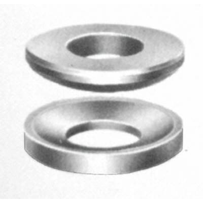 スーパーツール 球面座金(M24用)凸凹1組【24MSW】(ツーリング・治工具・クランピング座金)